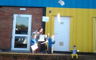Nursery puts paperwork on the naughty step