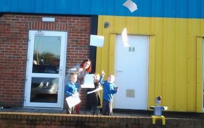 Nursery puts paperwork on the naughty step